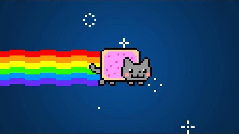 Chris Torres tarafından oluşturulan Nyan Cat