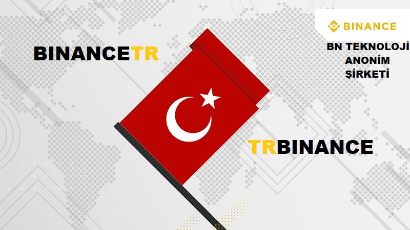 Binance Türkiye Logo