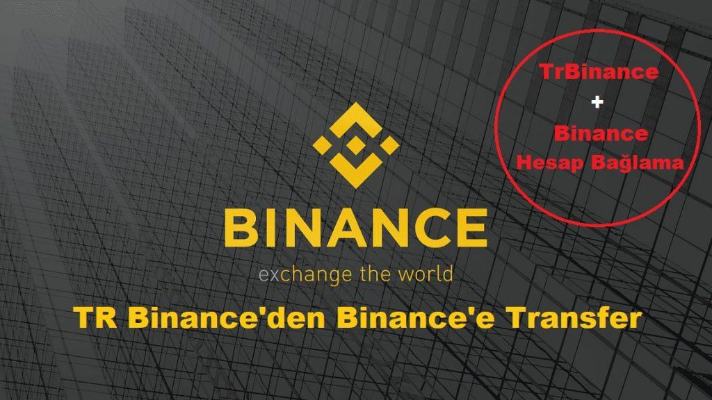 TR Binance'den Binance Global'e Transfer