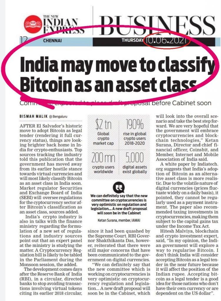 Hindistan Bitcoin Haberi